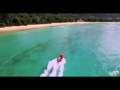 Beau Vallon, Seychelles...bird eye view