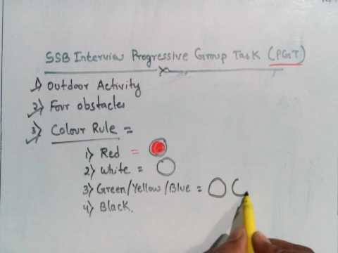 19. SSB GTO Series- Progressive Group Tast (PGT)