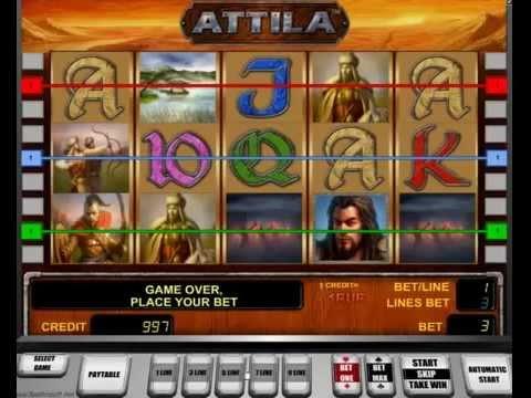 Игровой автоматы играть бесплатно атилла