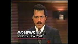 WCBS NY NEWS-10/19/85-Lester Holt, Richard Brown