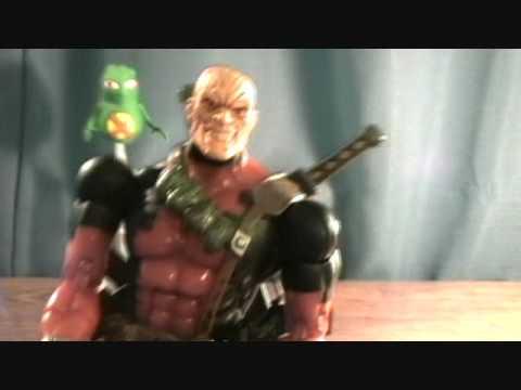 Marvel legends series 6 deadpool doop figure review for Dead pool show in jaipur