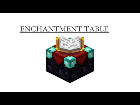 How To Craft Enchantment Table Minecraft Youtube