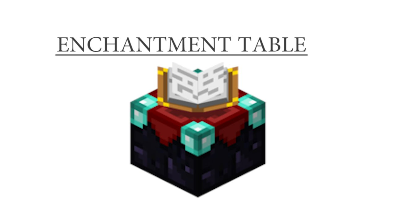 How To Craft Enchantment Table