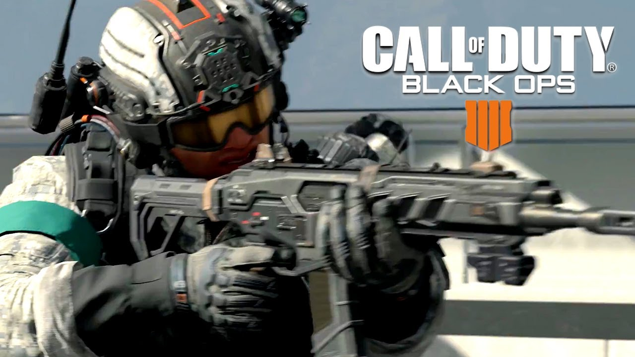 Call Of Duty Black Ops 4 Official Blackout Mode Multiplayer