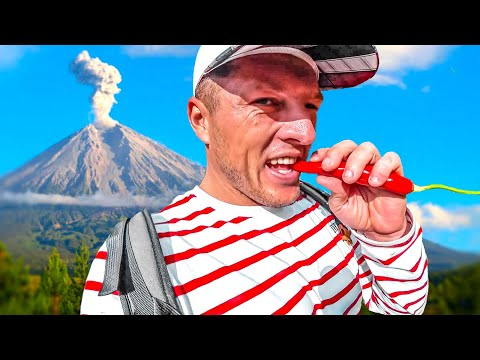 Карантин на вулкане Батур. Бали обнулился без туристов