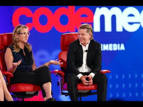 A&E CEO Nancy Dubuc and Turner CEO John Martin   Full interview   Code Media