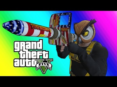 Thumbnail: GTA 5 Online Funny Moments - Floating RPG & Batcoon Dumpster Company!