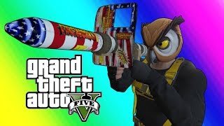 Video GTA 5 Online Funny Moments - Floating RPG & Batcoon Dumpster Company! download MP3, 3GP, MP4, WEBM, AVI, FLV Agustus 2018