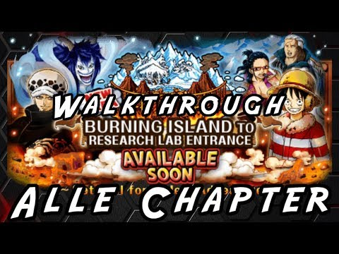 Punk Hazard Part 1 - Alle Chapter F2P [One Piece Treasure Cruise] - Pixel Walkthrough