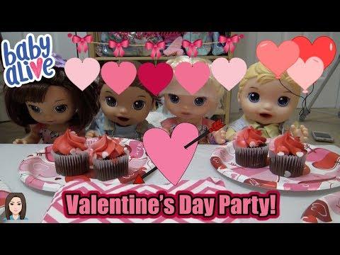 Baby Alives Celebrate Valentine's Day! | Kelli Maple