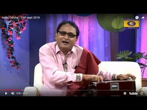 Srikara Padhy Odia singer in Hello Odisha Video