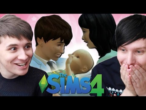 DIL HAS A BABY - Dan and Phil Play: Sims 4 #32