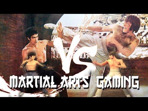 Bruce Lee vs Chuck Norris - Kings of Kung Fu - M.M.A.G. Mac Martial Arts Gaming