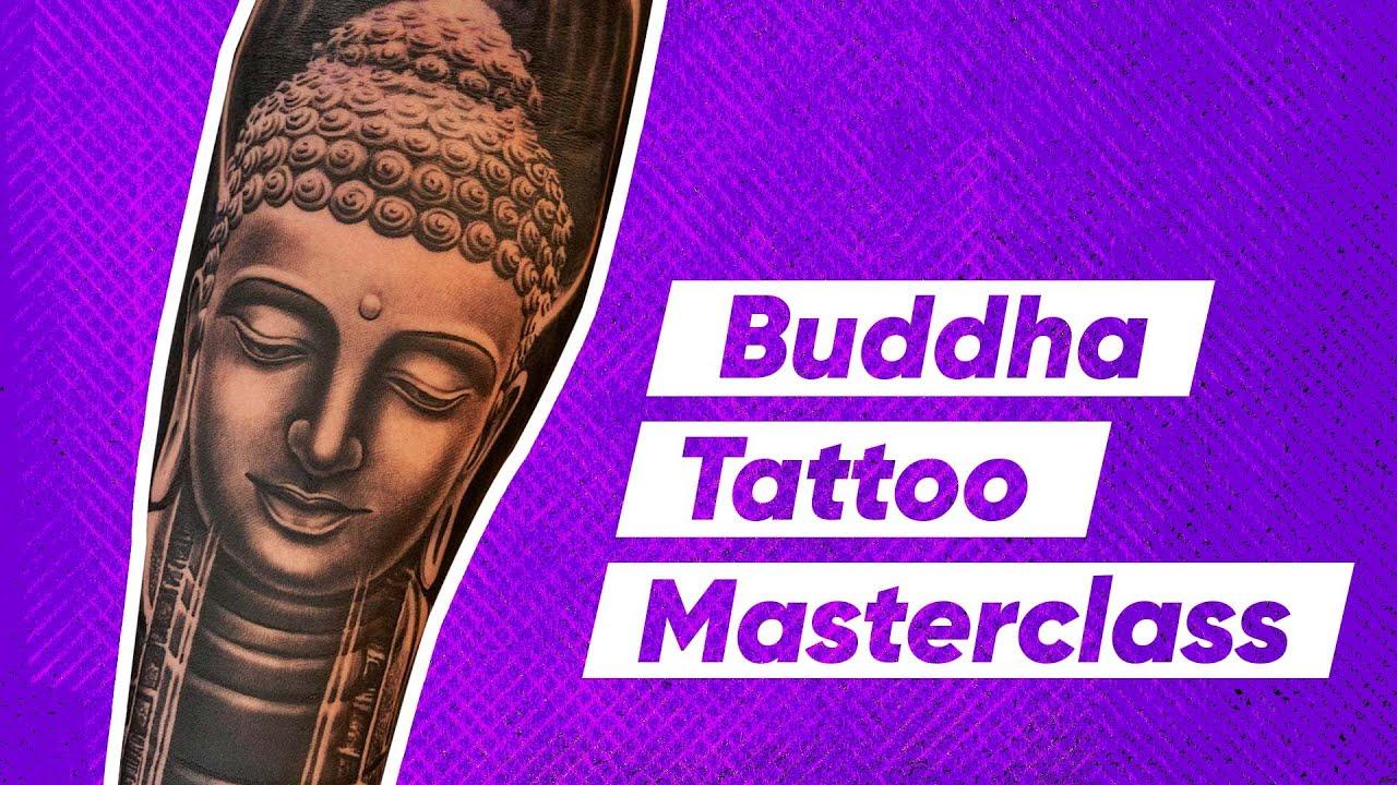 B&G Buddha Tattoo Tutorials - Tattoo Process A-Z (from Client Consultation to Final Tattoo)
