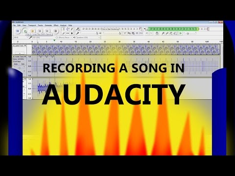 How to Record a Song in Audacity | Overdubbing Basics