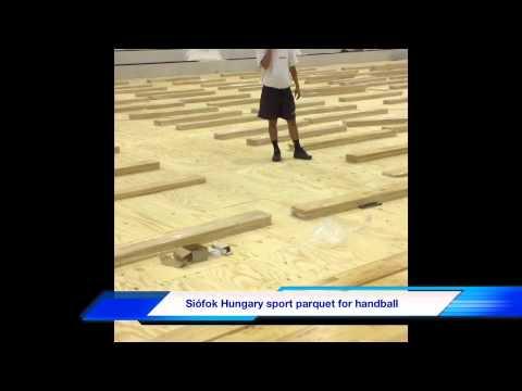 Sport parquet Hungary siófok