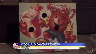 News 5 at 6 - Hastings Prepares for Kool-Aid Days / August 7, 2014