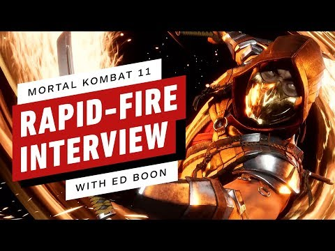 Mortal Kombat: 14 Rapid Fire Questions with Ed Boon thumbnail