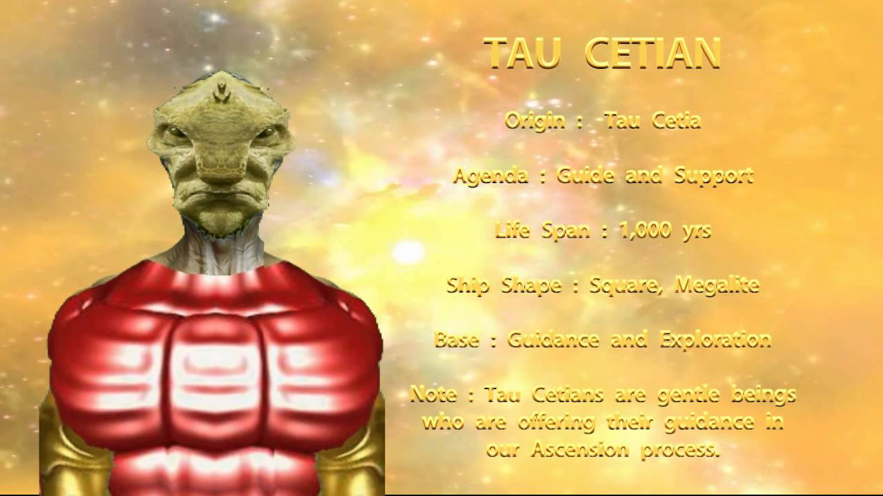 THE STAR RACES - TAU CETIAN - YouTube