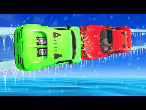 450MPH Mile High ICE WALLRIDE COLLISION! (GTA 5 Funny Moments)