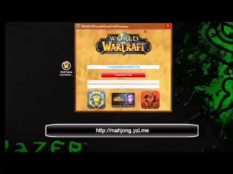 World Of Warcraft Game Card Generator [November 2014][Working][FREE]