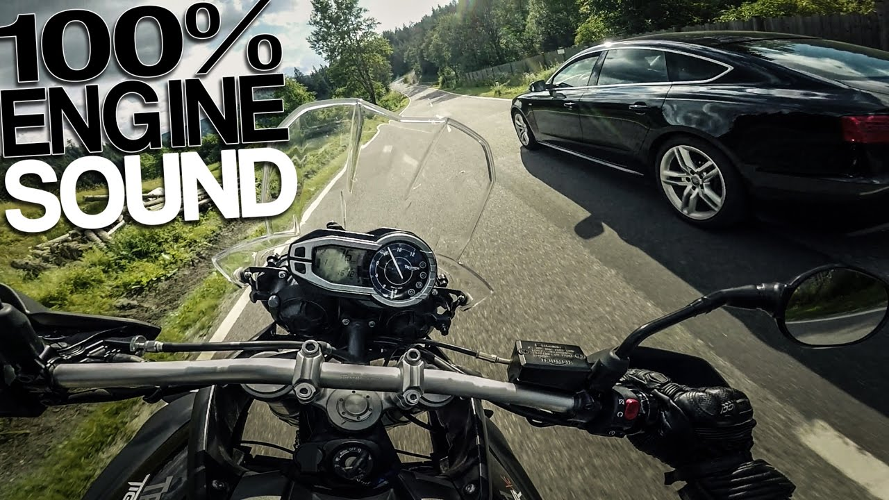Pushing The Triumph Tiger 800 Xc Raw Onboard Youtube