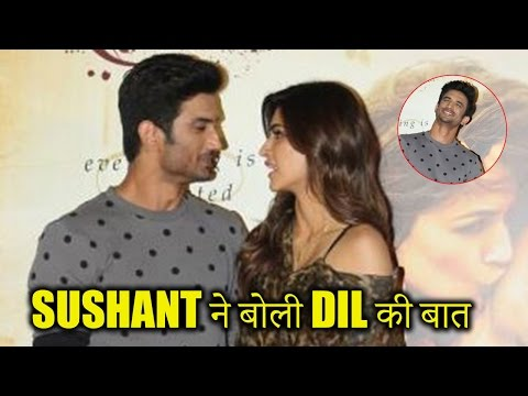 Sushant Reacts On His Off Screen Chemistry With Alleged GF Kriti Sanon!