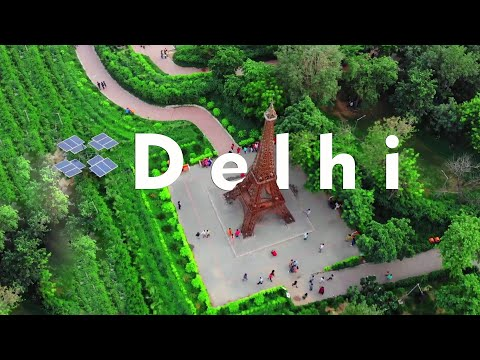 Waste to Wonder Park in Delhi | 7 wonders of the world | Tic