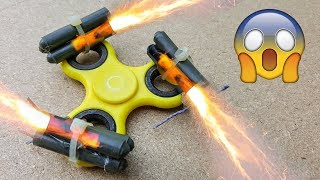 EPIC Fidget Spinner EXPERIMENT Fun Tricks with Fidget Spinner thumbnail