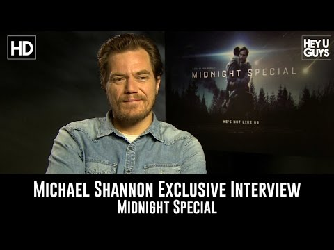 Michael Shannon Exclusive Interview - Midnight Special