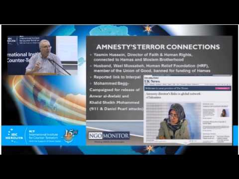 Prof. Gerald Steinberg, speaking at the IDC Anti-Terrorism Conference, Sept. 9, 2015 English