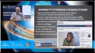 Prof. Gerald Steinberg, speaking at the IDC Anti-Terrorism Conference, Sept. 9, 2015