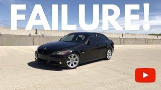 Engine Failure From BMW Gasket Leak!