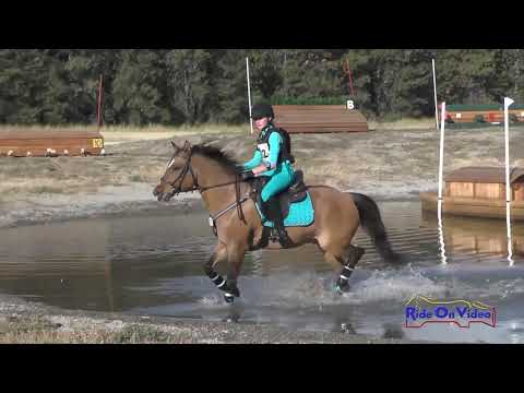 082XC Caitlin Elizabeth Miller on Ricky JR/YR Beginner Novice  Cross Country Spokane HT Sept. 2017