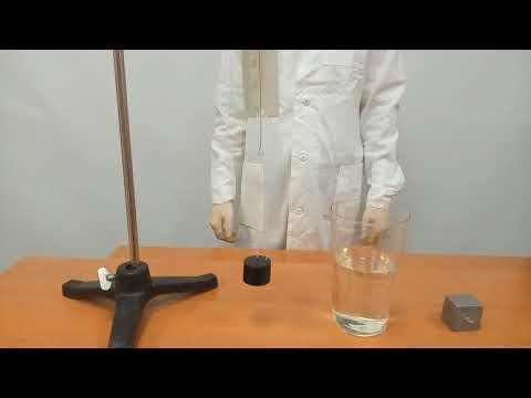 Л  Р  7 8 Определение выталкивающей силы, действующей на погруженное в жидкость тело