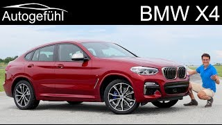 BMW X4 FULL REVIEW Documentary all-new 2019 G02 M40d vs xDrive30i comparison - Autogefühl