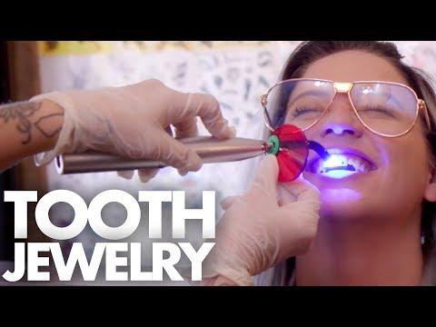 We Got TEETH JEWELRY?!?  (Beauty Trippin)