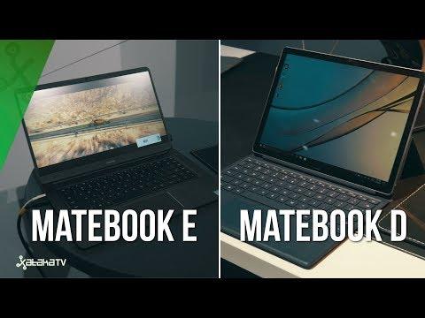 Huawei Matebook E y Matebook D, 2 en 1 y versatilidad para que el usuario elija