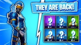 THESE SKINS ARE BACK! Fortnite Item Shop! Daily & Featured Items! (Skin Reset #312)