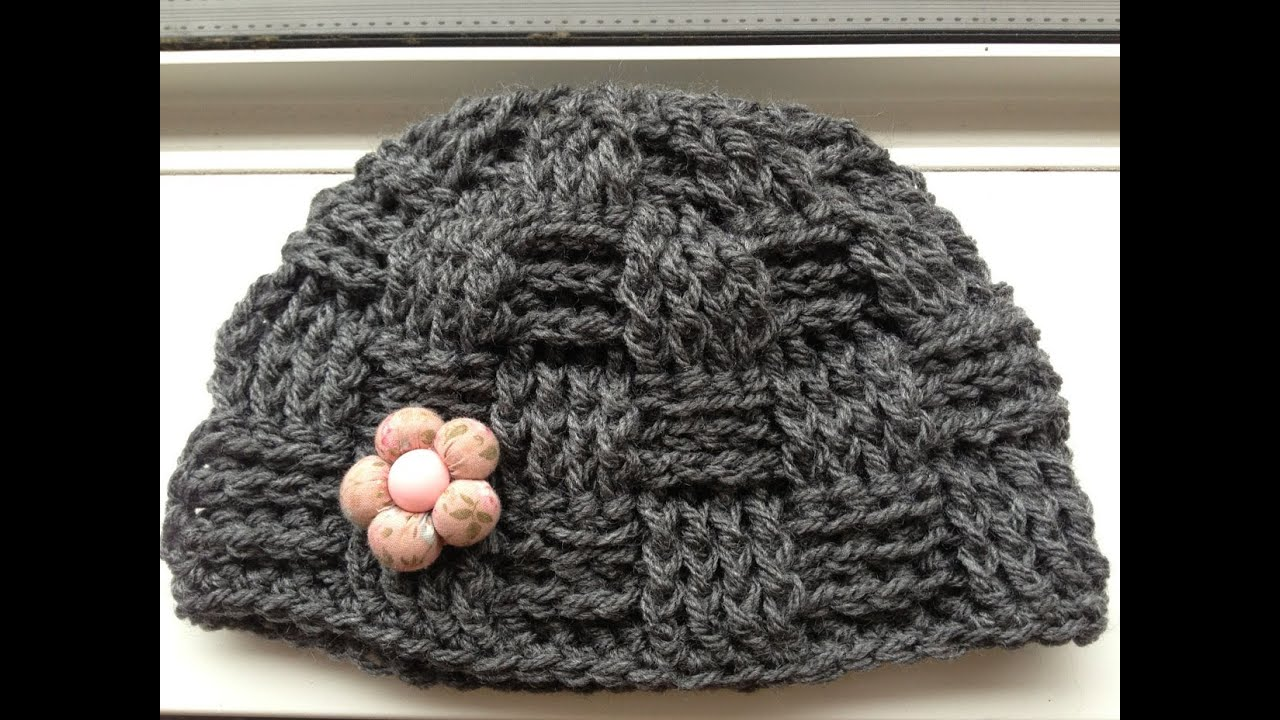 How to crochet a basket hat youtube bankloansurffo Choice Image