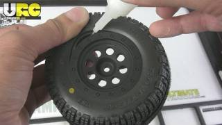 How To: Glue RC Short Course Tires