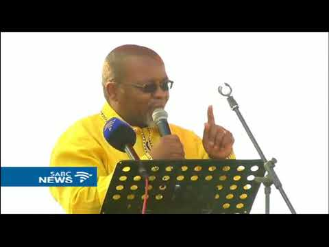 Mantashe addresses supporters at Oliver Tambo celebrations, Limpopo