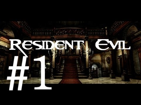 Resident Evil Remake/Archives: Wii/Gamecube HD Jill Walkthrough Part 1 - REmastered Commentary!