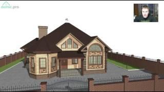 Проект одноэтажного дома  на 3 спальни «Городок-3»  B-254-ТП(, 2017-06-06T16:52:17.000Z)
