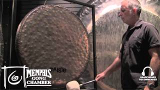 "Paiste 38"" Sound Creation Gong #3B Earth - Played by Ed Clift"