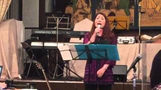 2015.10.4 Kobe Bible Fellowship, Kobe Japan, Sunday service sung by...