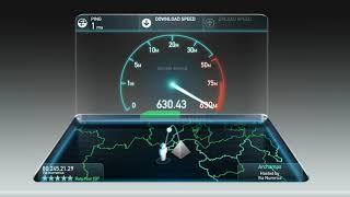 Test de débit Fibre