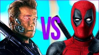 - ТЕРМИНАТОР VS ДЭДПУЛ СУПЕР РЭП БИТВА Terminator full movie ПРОТИВ Deadpool 2 фильм