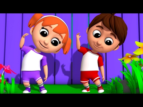 Luke & Lily - Head Shoulders Knees And Toes | Nursery Rhymes Songs | Video For Kids And Toddler