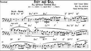 Body and Soul - Bill Watrous Transcription - Matt Smith Music